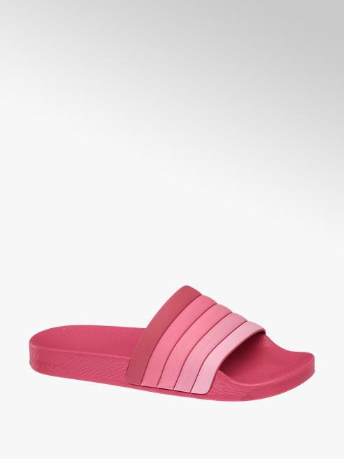 Blue Fin Růžové pantofle Blue Fin