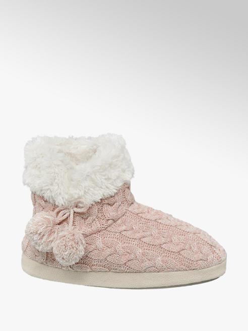 Casa mia Růžové papuče Casa mia