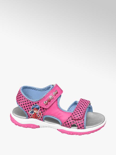 Miraculous Růžové sandály Kouzelná beruška a Černý kocour