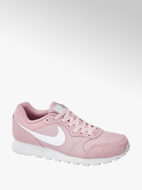 NIKE Růžové semišové tenisky Nike Md Runner 2