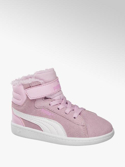Puma sneakersy dziecięce Puma Vikky Mid Fur