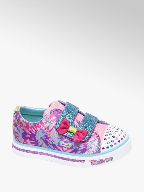 Skechers Roze sneaker glitter & led