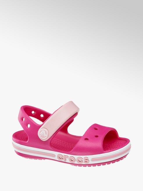 Crocs Ružové detské plážové sandále Crocs