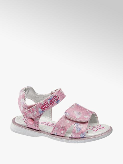 Tom Tailor Ružové detské sandálky Tom Tailor