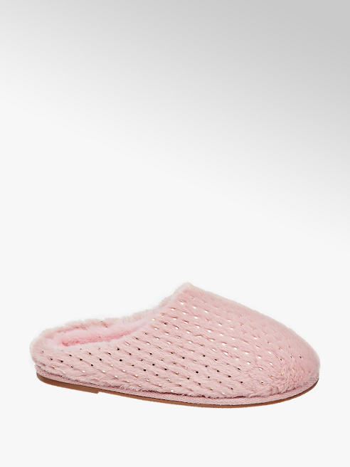 Vero Moda Ružové papuče Vero Moda