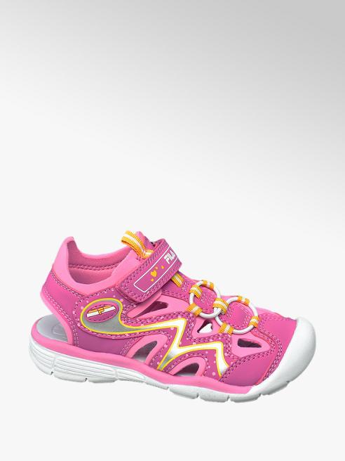 Fila Ružové sandále na suchý zips Fila