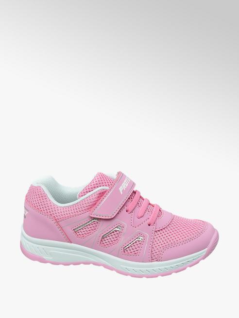 Graceland Ružové tenisky na suchý zips Graceland