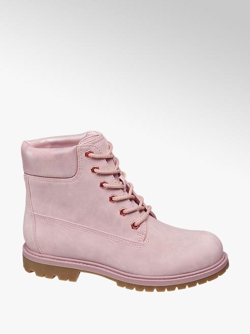 Landrover Rózsaszín bakancs