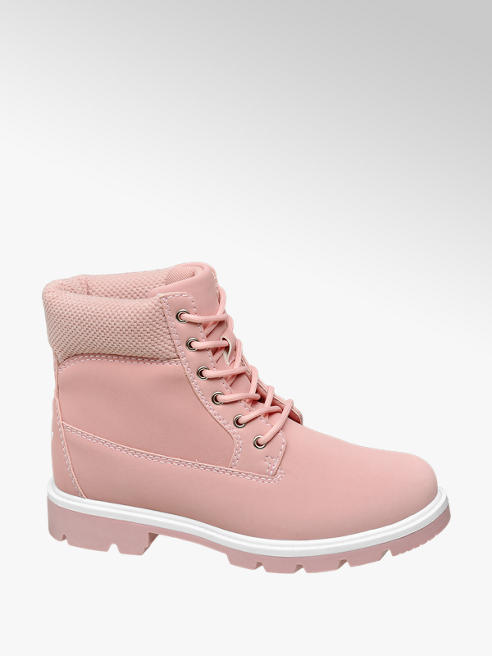 Vty Rózsaszín bakancs