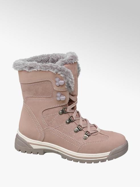 Cortina Rózsaszín bélelt bakancs