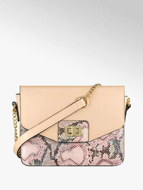 Graceland Rózsaszín hüllő mintás táska