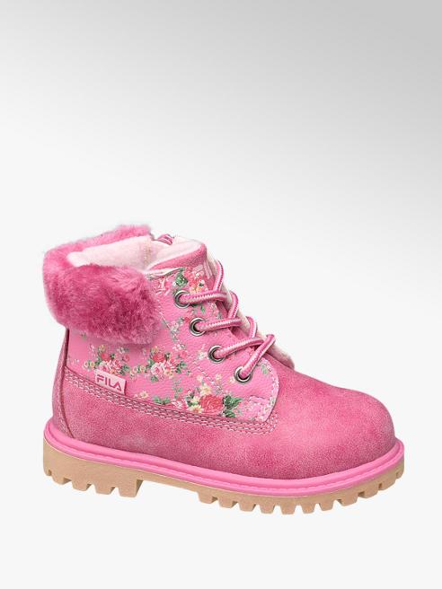 Fila Rózsaszín lány bakancs