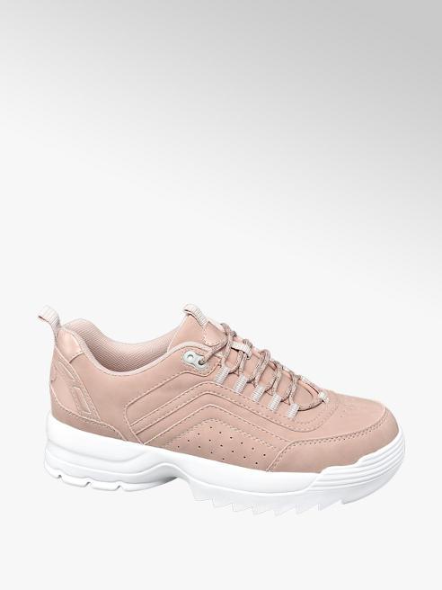 Venice Rózsaszín női chunky sneaker