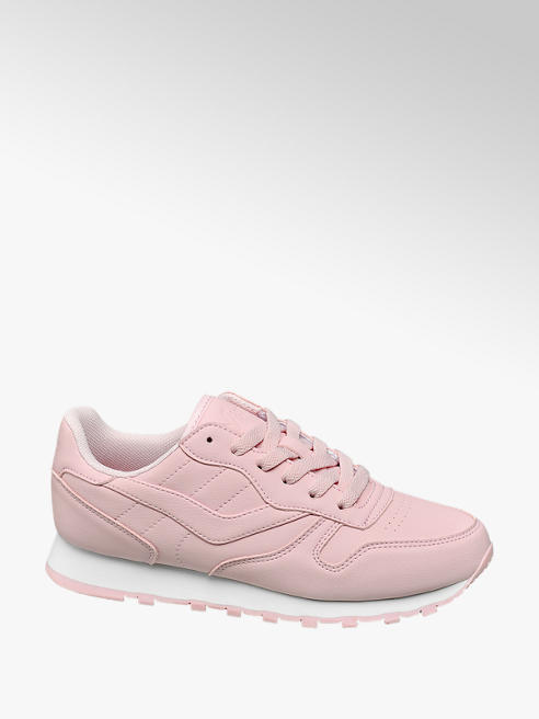 Vty Rózsaszín női retro sneaker