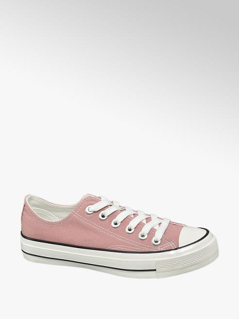 Vty Rózsaszín vászon sneaker