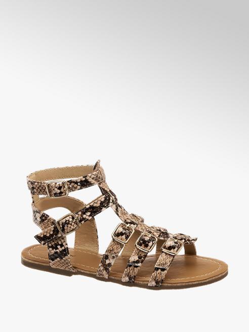Graceland Sandal Reptil-Look