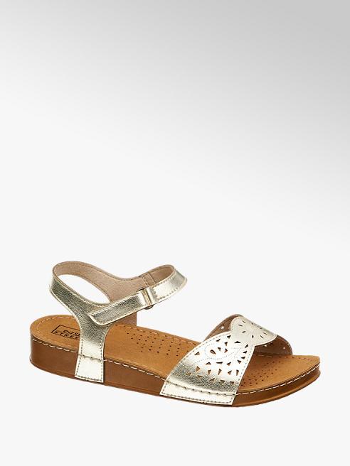 Sandale Artikelnummernbsp;1229647 Street Von Easy In Gold ZkXOPiu