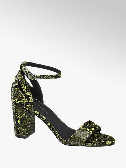 Vero Moda Sandalett Reptil-Look