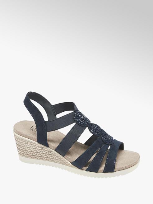 Easy Street Sandalo in microfibra blu