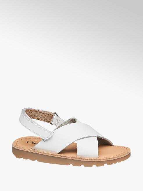 Cupcake Couture Sandalo in pelle bianca