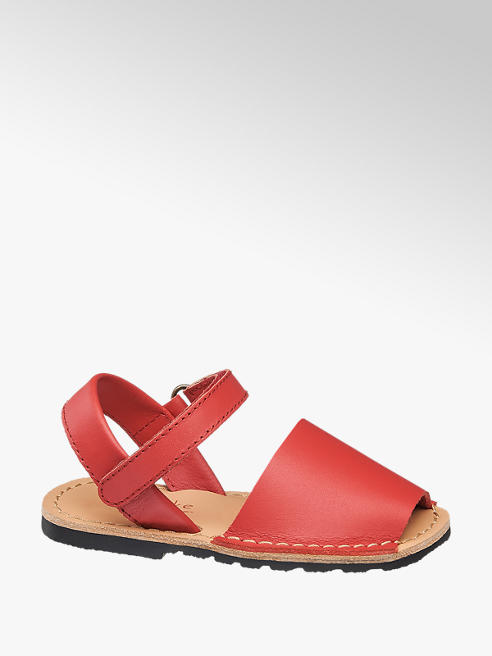 Cupcake Couture Sandalo in pelle rossa