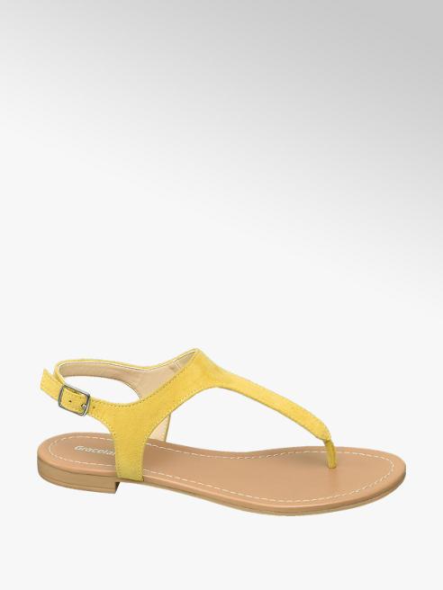 Graceland Sandalo infradito giallo