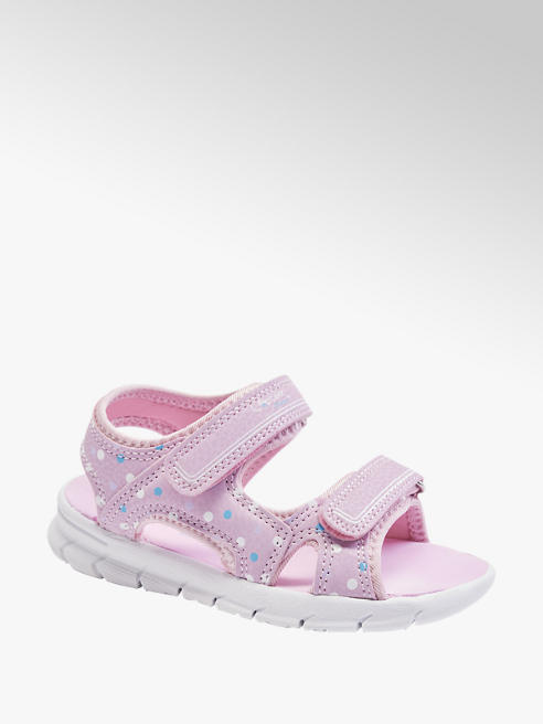 Cupcake Couture Sandalo rosa con chiusure a velcro