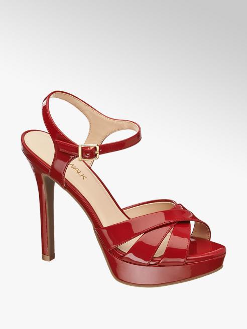 Catwalk Sandalo rosso in vernice