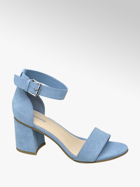 Graceland Sandalo scamosciato azzurro