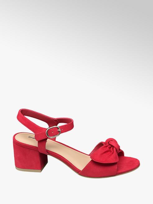 Graceland Sandály na podpatku s mašlí