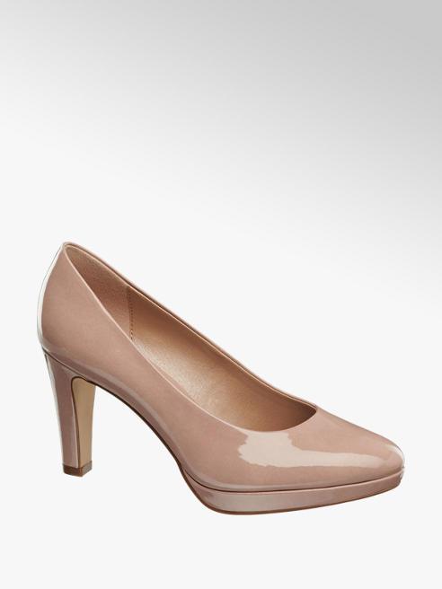 Graceland Sapato de salto com compensado