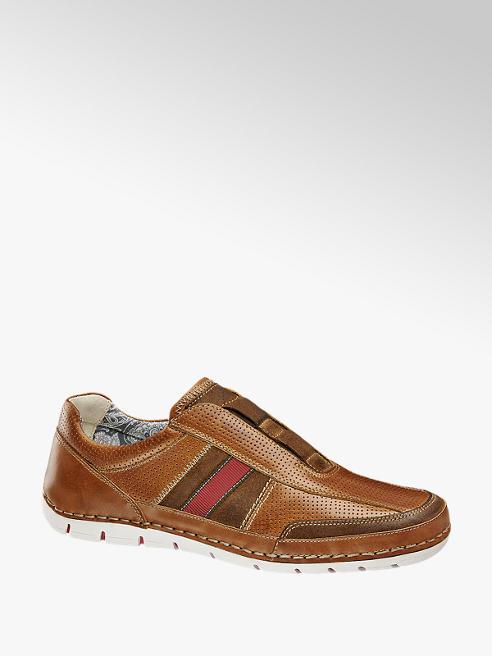 AM SHOE Sapato slipper em pele