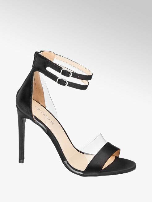 Catwalk Saténové sandály