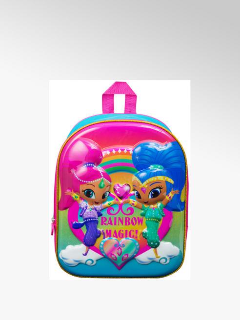 Shimmer & Shine Glossy Hard Front Backpack