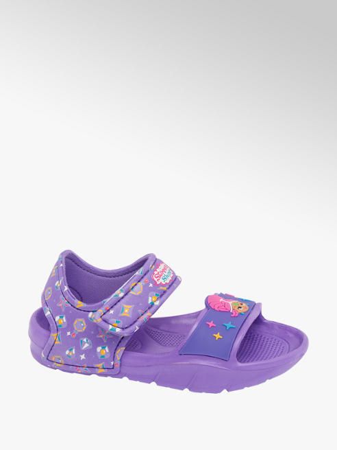 Shimmer & Shine Toddler Girls Shimmer & Shine Purple Touch Fasten Sandal