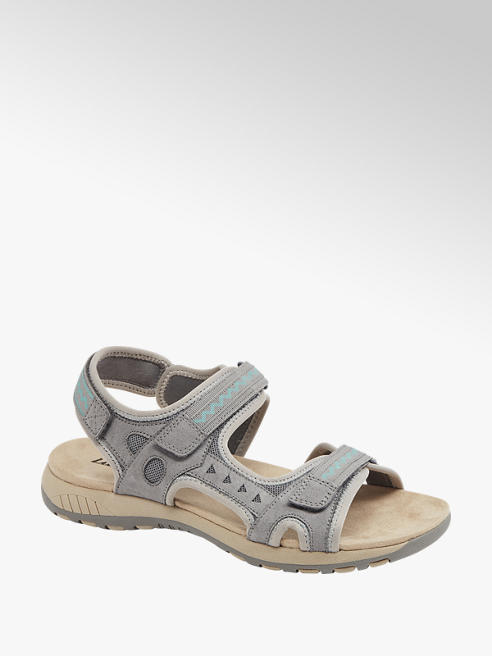 Landrover Sivé outdoorové sandále Landrover