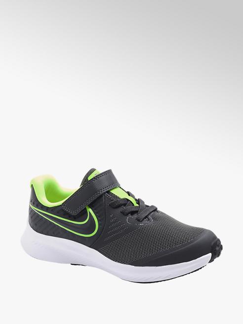 NIKE Sivé tenisky na suchý zips Nike Star Runner 2