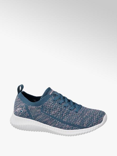 Skechers Slip On Sneaker SOCIAL MUSE in Blau