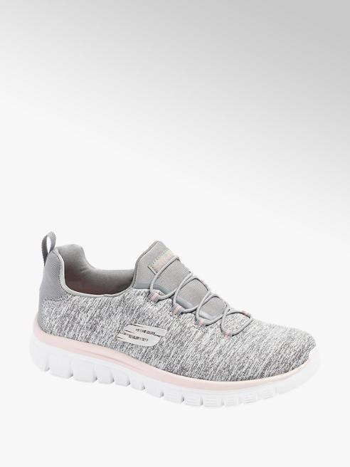 Skechers Slip On Sneaker in Grau