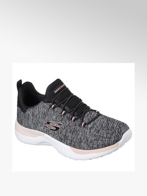 Skechers Slip On Sneaker in Grau-Schwarz