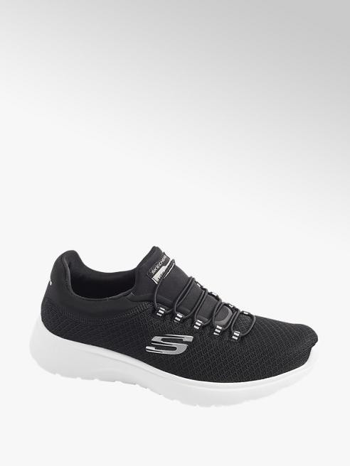 Skechers Slip on Sneaker in Schwarz