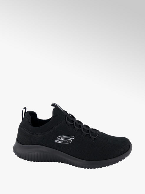 Skechers Slip on Sneaker in Schwarz