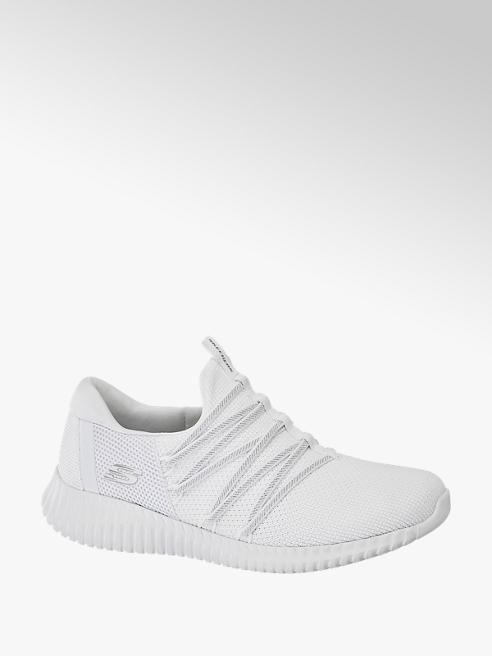 Skechers Slip on Sneaker in Weiß