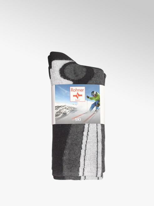 100% authentifiziert Rabatt-Verkauf High Fashion Skisocken 2 pack in grau von Rohner günstig im Online-Shop ...
