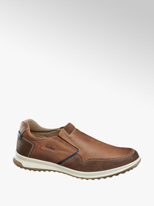 Gallus Slip On Læder