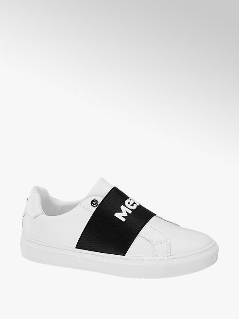 MEXX Slipper bianca con fascia nera