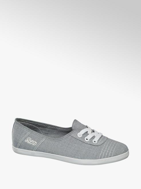Graceland Slipper in tessuto grigio