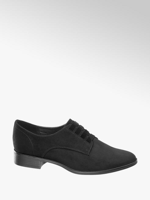 Graceland Slipper nera senza lacci