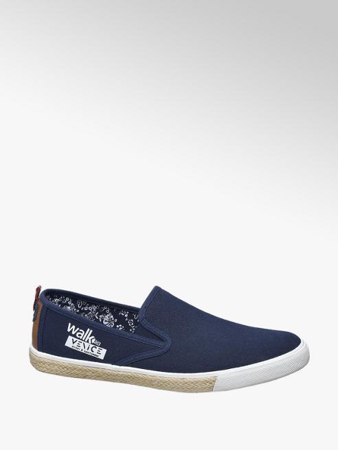 Venice Slipper stile espadrillas blu