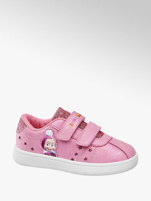 Masha and the bear Sneaker con velcro